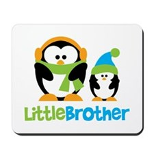 2 Penguins Little Brother Mousepad