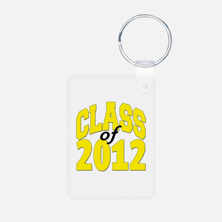 Class of 2012 (yellow) Keychains