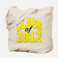 Class of 2012 (yellow) Tote Bag