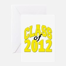 Class of 2012 (yellow) Greeting Card