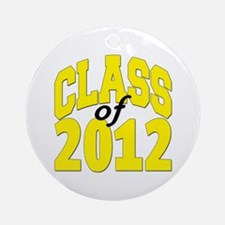 Class of 2012 (yellow) Ornament (Round)