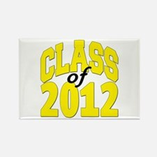 Class of 2012 (yellow) Rectangle Magnet (10 pack)