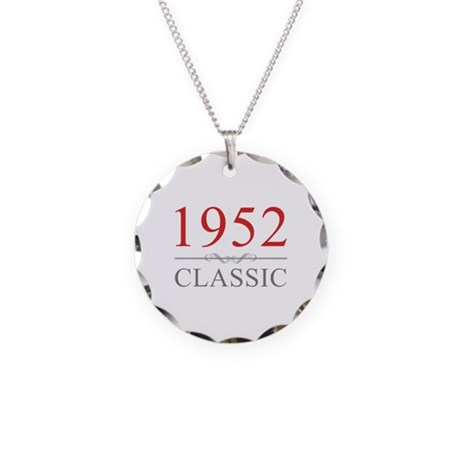 1952 Classic Necklace Circle Charm