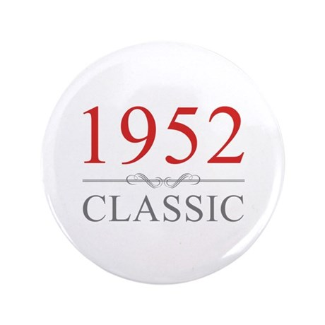 """1952 Classic 3.5"""" Button (100 pack)"""