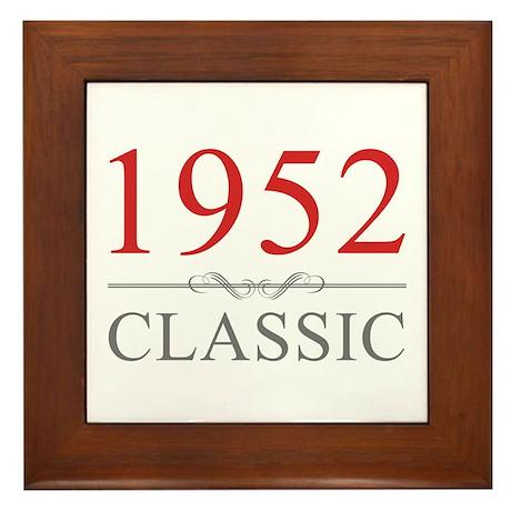 1952 Classic Framed Tile