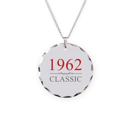 1962 Classic Necklace Circle Charm