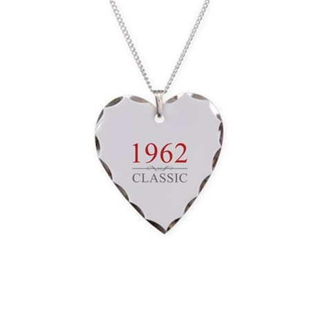 1962 Classic Necklace Heart Charm