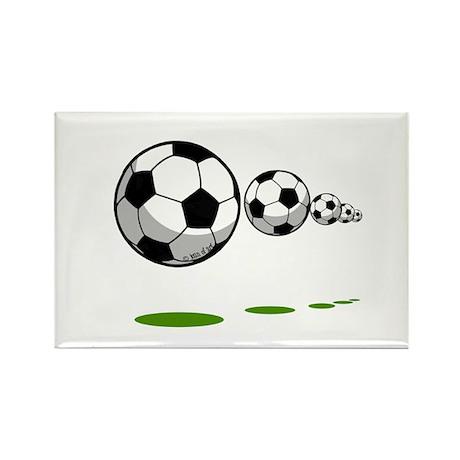Soccer (11) Rectangle Magnet