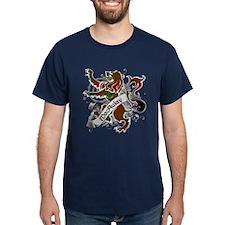 MacAulay Tartan Lion T-Shirt