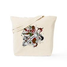 MacAulay Tartan Lion Tote Bag