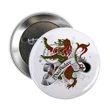"MacAulay Tartan Lion 2.25"" Button"
