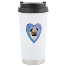 Pug Travel Coffee Mug
