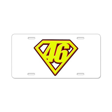 VRSM Aluminum License Plate