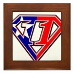 BSSMflag Framed Tile