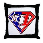 BSSMflag Throw Pillow