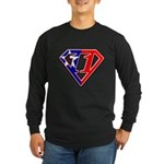 BSSMflag Long Sleeve Dark T-Shirt