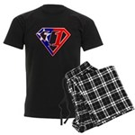 BSSMflag Men's Dark Pajamas