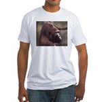 Silverback Gorilla Fitted T-Shirt