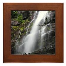 Lower Falls (color) Framed Tile