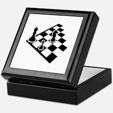 Chessboard chess Keepsake Box