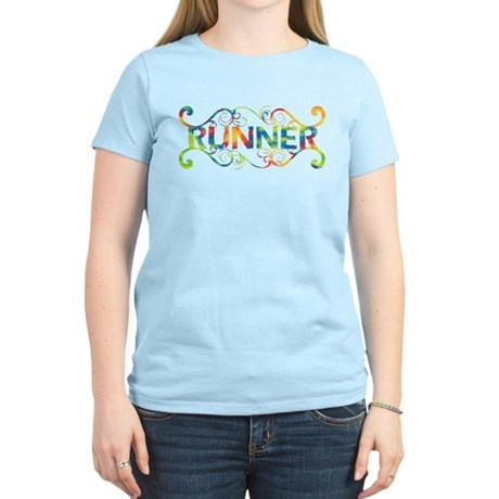 Colorful Runner Women's Light T-Shirt