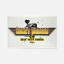 Honey Badger Top Gun Wingman Rectangle Magnet (100