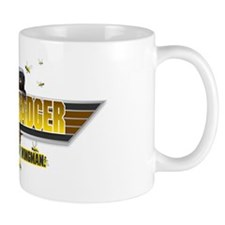 Honey Badger Top Gun Wingman Small Mug