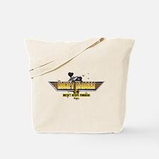 Honey Badger Top Gun Wingman Tote Bag
