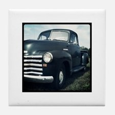 1950 Chevy Truck Tile Coaster