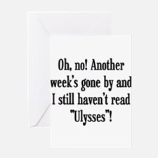 read ulysses Greeting Card