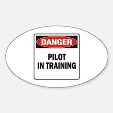 Pilot Sticker (Oval)
