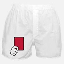 Referee red card Boxer Shorts