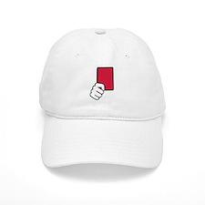 Referee red card Baseball Baseball Cap
