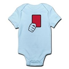 Referee red card Infant Bodysuit