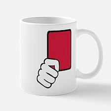 Referee red card Mug