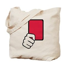 Referee red card Tote Bag
