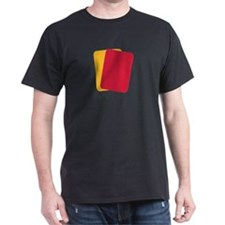 Referee red yellow card T-Shirt