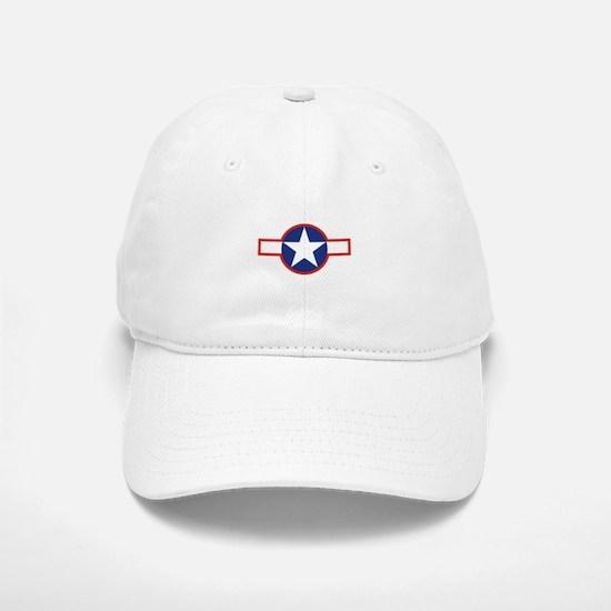 Star & Bar Baseball Baseball Cap
