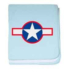 Star & Bar baby blanket