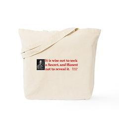 Ben Franklin: Secret Tote Bag