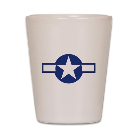 Star & Bar Shot Glass