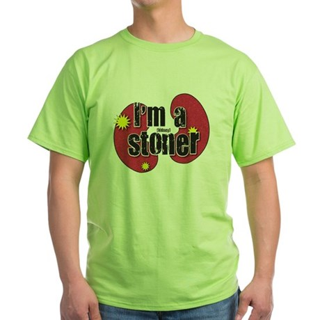 Kidney Stoner Green T-Shirt
