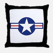 Star & Bar Throw Pillow