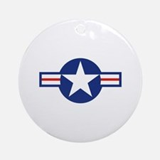 Star & Bar Ornament (Round)
