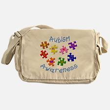 Autism Awareness Messenger Bag