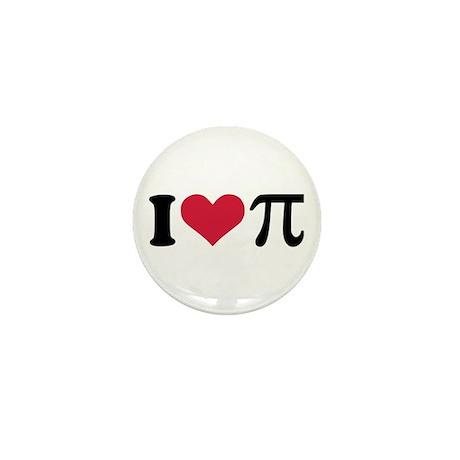 I love Pi Mini Button (100 pack)