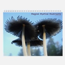 Magical Mystical Mushrooms Wall Calendar