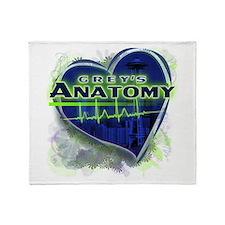 Grey's Anatomy TV Fan Throw Blanket