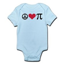 Peace, Love & Pi Infant Bodysuit