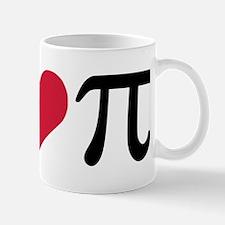 Peace, Love & Pi Mug